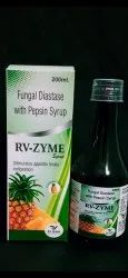 Pcd franchise for Fungal Diastase With Pepsin Enzyme Syrup