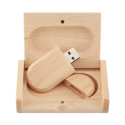 Wooden Pen Drive with Box