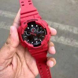 Red Unisex G Shock Sport Watches