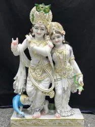 White marble  jugalradhakrishna  2.5 feet