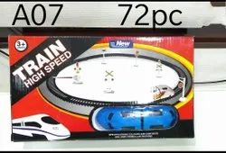 Silver High Speed Train Toy, Model Name/Number: A07
