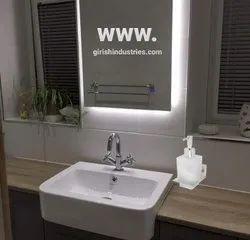Glass Liquid Soap Dispenser for Wall Steel Soap/Shampoo/Hand Wash/Conditioner/Gel Dispenser