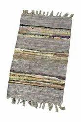 Pkg Multicolor Cotton Chindi Rugs, Size: 2 Feet X 4 Feet