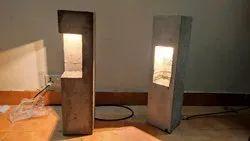 RADHVIK Concrete Outdoor Led Bollard Light, Mounting Type: Surface, Ac