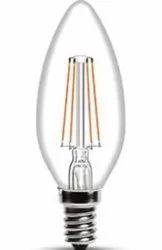 4 watts Warm White Wipro Garnet 4w E14 Filament LED Candle N41002