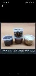 Lockable Plastic Food Containers