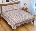 Jaipuri Printed Cotton Bed Sheet