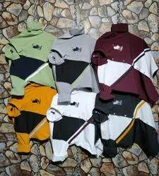 Party Wear Designer Mens Shirts, Model Name/Number: Diagonal Cut Design