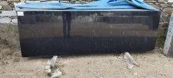 R Black Granite Slab