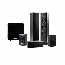 5.1 Black Polk Audio T Series