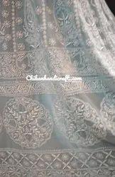 Chikankari handembroidery Anarkali Suit