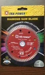 4 Inch Xtra Power Super Thin Turbo Diamond Saw Blade 110mm