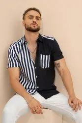 Snitch Casual Wear Men's Shirt