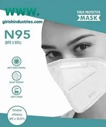 N95 Mask,Anti Pollution, Reusable,Non-Woven 5 Layer Protective Face Mask  Washable And Reusable