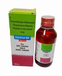 Dextropropoxyphene HCL Chlorpheniramine Maleate Syrup, 100ml