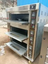 Deck Oven 3 Deck 6 Trays