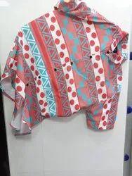 Satin Collar Neck Funky Shirts