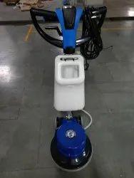 Single disc Carpet shampooing machine