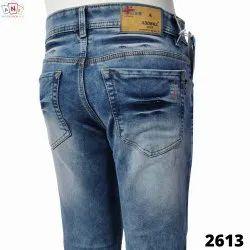 Denim Faded Men Jeans, Waist Size: 28-28-30-32-34