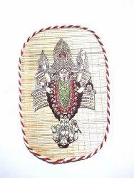 Multicolor Hindu Bamboo Kali Maa, For Home, Size: 7