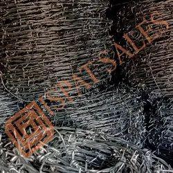 Mild Steel Barbed Wire Fencing