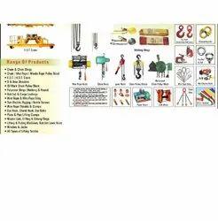 Lifting Equipment's