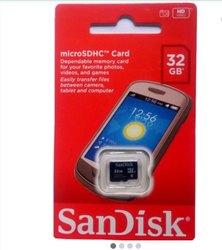 SanDisk 32 gb micro memory card