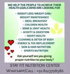Unisex Weight Gain Centres