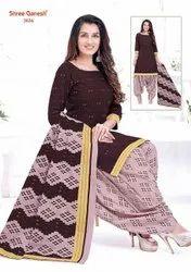 Shree Ganesh Cotton Readymade Chudi