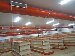 AC Gi Oval Duct, For Ventilation