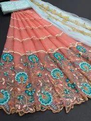 SR Party Wear Designer Lehenga Saree