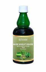 Aloe Vera Wheatgrass Juice