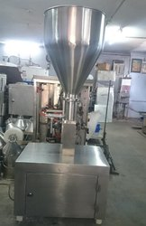 Semi Automatic Horizontal Paste Filling Machine