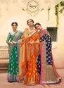 Ladies Banarasi Jacquard Silk Saree