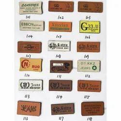Branded Jeans label