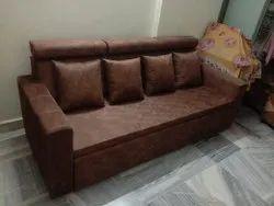 Wood Sofa Cum Bed With Storage