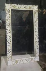 mirror frame wooden carved, For Home, Size: 120x70