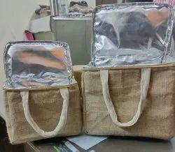 Jute Insulated Bag
