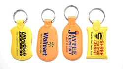 Plastic Printed Keyrings