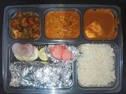 Indian Home Delivery Paneer Veg Thali, in Greater Noida