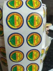 Skytech Chromo Adhesive Printed Label, For Packaging, Size: 22 mm Dia