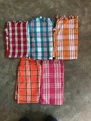 Cotton Multicolor Fancy Towel, 250-350 GSM, Size: 30*60