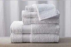 Trident White Cotton Hotel Terry Towel