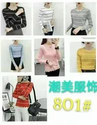 Multicolor China Imported Top