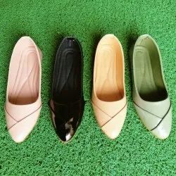 Women Patent Leather Ladies Plain Casual Belly, Size: 6 - 10