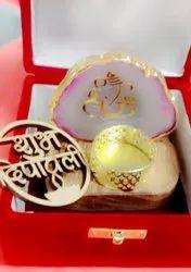 Agate Ganesh With Box