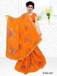 Chiffon Full Lace Border Saree