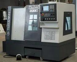 CNC TURNING MACHINE FLAT BED 200 dia