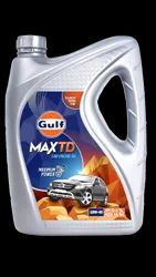 Car Gulf Max TD 15W-40 5 /7 liter, Model Name/Number: Bolero Pickup, Packaging Type: Bucket