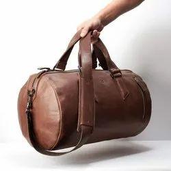 Brown Pu Leather Designer Bag Manufacturer In Mumbai
